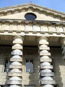 Claude Nicolas Ledoux (1736-1806): Arc et Senans, la saline royale: pavillon du directeur