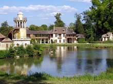 Richard Mique (1728-1792): le hameau de la reine au petit Trianon de Versailles.