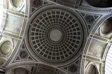 Jacques Germain Soufflot (1713-1780): l'église Sainte-Geneviève (Panthéon) de Paris: la coupole