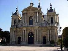 Jacques Hardouin-Mansart de Sagonne (1709-1776): la cathédrale saint louis de Versailles. 1766