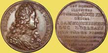 Jean Dassier (1676-1763)�: le r�gent Philippe d�Orl�ans. 1723