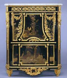 Jean-Henri Riesener (1734-1806): secrétaire à abattants. 1783. 144,8 x 109,2 x 40,6 cm. New York, Metropolitan Museum