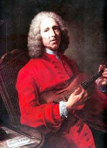 Jacques André Joseph Aved (1702-1766) : Jean Philippe Rameau. Dijon, musée des Beaux Arts