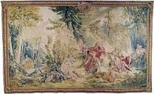 François Boucher (1703-1770): Renaud endormi. Tapisserie. Entre 1760 et 1765. 355 x590 cm. Zürich, Galerie Pierre Kolle