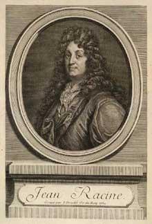 Jean Daullé (1703-1763): Portrait de Jean Racine. 1762