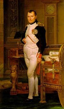 Jacques-Louis David (Paris 1748- Bruxelles 1825): Napoléon dans son cabinet de travail aux Tuileries. Washington, National Gallery of Art