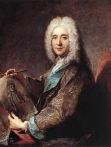 François De Troy (1645-1730): portrait de Jean de Jullienne. Huile sur toile. Valenciennes, Musée des Beaux-Arts