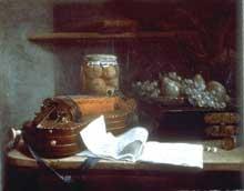 Henri Horace Roland de la Porte (1724-1793): nature morte à la vielle. Paris, musée du Louvre