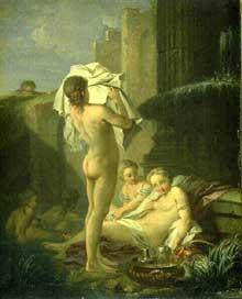 Étienne Jeaurat (1699-1768): bain de femmes. Musée de Bprdeaux.