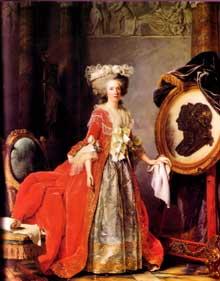 Adélaïde Labille Guiard (1748-1803) : Marie Adélaïde de France, 1787, Musée National du Château de Versailles