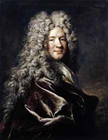 Nicolas de Largillière (1656-1746): Portrait of a Man in a Purple Robe. 1700. Huile sur toile, 80 x 63 cm. Kassel, Staatliche Museen
