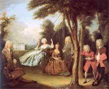 Philippe Mercier (1689-1760): la conversation de Belton
