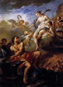 Charles Joseph Natoire (1700-1777): Vénus et vulcain. Montpellier, musée Fabre