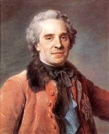 Maurice Quentin De La Tour (1704-1788) : Maurice, Comte de Saxe, maréchal de France. 1748. Pastel sur papier, 59,5 x 49 cm. Dresde, Gemäldegalerie