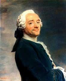 Maurice Quentin De La Tour (1704-1788) : autoportrait. 1751. Pastel sur papier. Amiens, Musée de Picardie