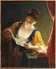 Jean Raoux (1677-1734):la Liseuse. Montpellier, Musée Fabre