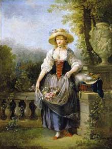 Jean Frédéric Schall (1752-1825): jardinière. Collection privée