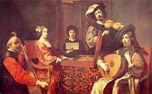 Robert Tournières (1667-1752): Concert. 1690s. Huile sur toile. Paris, Musée du Louvre