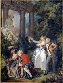 Louis Roland Trinquesse (1745-1800): l'offrande à Vénus. Musée de Dijon