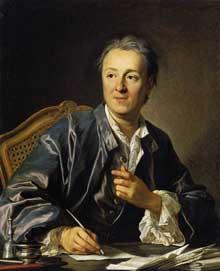 Louis Michel Van Loo (1707-1771): portrait de Denis Diderot. 1767. Huile sur toile, 81 x 65 cm. Paris, Musée du Louvre