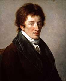 François André Vincent (1746-1816): Portrait du Baron Georges Cuvier (1769-1832) Huile sur toile, 54 x 65,4 cm