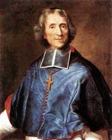 Jospeh Vivien (1657-1734: portrait de Fénélon. Huile sur toile, 80 x 63 cm. Munich, Alte Pinakothek