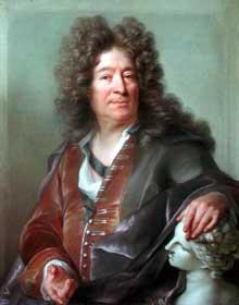 Jospeh Vivien (1657-1734: portrait de Girardon. Paris, musée du Louvre