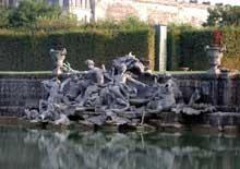 Lambert Sigisbert Adam (1700-1759): Neptune et Amphitrite. 1740. Parc et jardins du château de Versailles, Bassin de Neptune