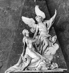 Nicolas Sébastien Adam (1708-1778): Monument de la reine Catherine Opalinska. 1749. Nancy Notre-Dame du Bon Secours.