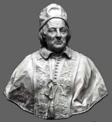 Edmé Bouchardon (1698-1762): Buste de Pape ClémentXII. 1730. Marbre. Florence, Collection Corsini.