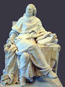 Clodion (1738-1814): Montesquieu. 1783. Paris, Musée du Louvre