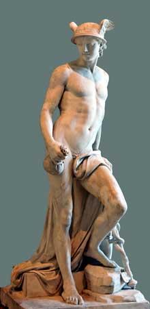 Augustin Pajou (1730-1809): Mercure. Paris, Musée du Louvre