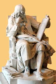 Augustin Pajou (1730-1809): Blaise Pascal. Paris, Musée du Louvre
