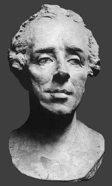 Jean Baptiste Pigalle (1714-1785): Thomas-Aignan Desfriches. Terre cuite. Orléans, Musée des Beaux-Arts