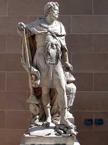 Sébastien Slodtz (1665-1755): Hannibal. Paris, musée du Louvre