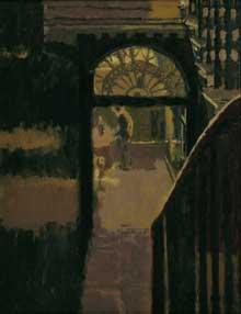 Walter Richard Sickert (1860-1942): l'atelier de Whistler. 1918. Huile sur toile. 91 x 71,5cm. Queensland art Gallery