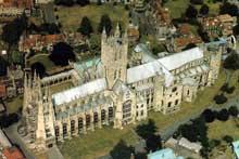 Cathédrale de Canterbury: vue générale