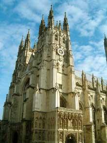Cathédrale de Canterbury: massif occidental