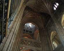 Cathédrale de Canterbury: la croisée du transept