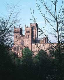Durham: la cathédrale, vue générale