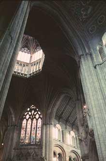 Durham: la cathédrale, la croisé