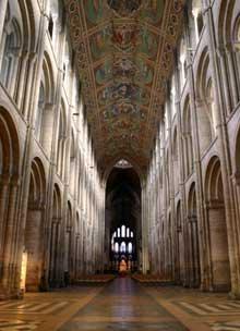 Ely, la cathédrale: La nef centrale