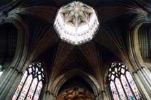 Ely, la cathédrale: la croisée