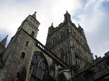 Gloucester: cathédrale saint Pierre et sainte Trinité