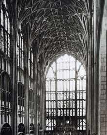 Gloucester: cathédrale saint Pierre et sainte Trinité. Le Chœur