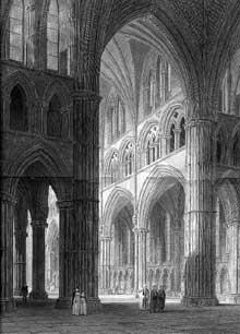 Lincoln, cathédrale: la croisée