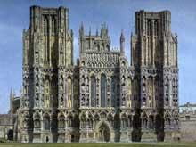 Cathédrale de Wells: tour de croisée