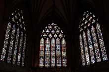 Cathédrale de Wells: la façade, détail