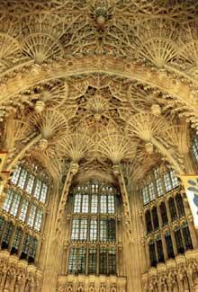 Abbaye de Westminster: la chapelle Henri VII