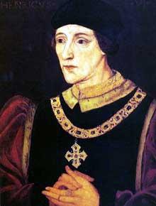 HenriVI (1421-1471), roi d'Angleterre de 1422 à 1461 et de 1470 à 1471. Portrait d'un artiste inconnu. (Histoire de l'art - Quattrocento